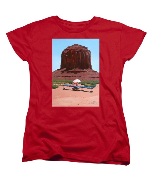 Jewelry Seller Women's T-Shirt (Standard Cut) by Mike Robles