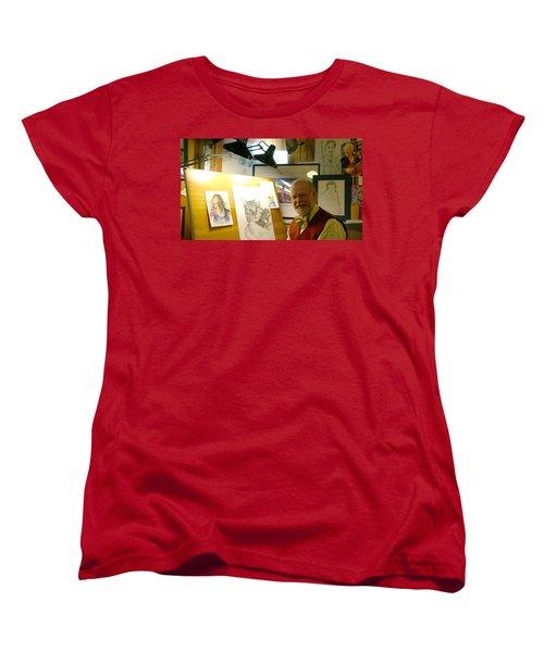 John D Benson Women's T-Shirt (Standard Cut) by Charles Kraus