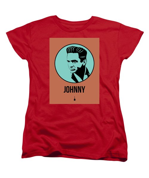 Johnny Poster 1 Women's T-Shirt (Standard Cut) by Naxart Studio