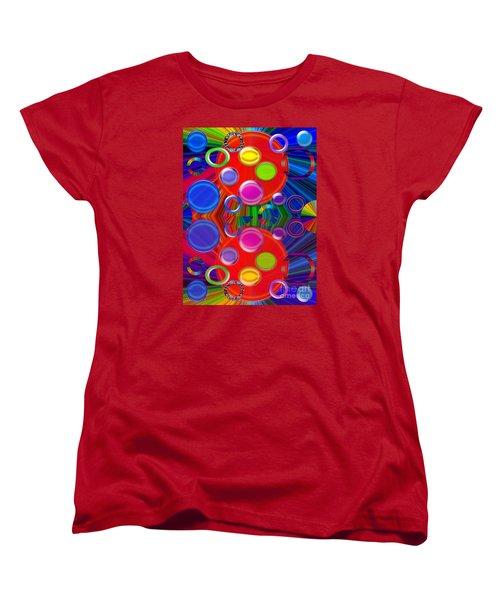 Women's T-Shirt (Standard Cut) featuring the photograph Joyous by Tina M Wenger