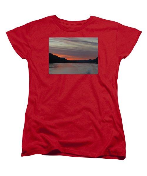 Women's T-Shirt (Standard Cut) featuring the photograph Juneau Alaska by Jennifer Wheatley Wolf