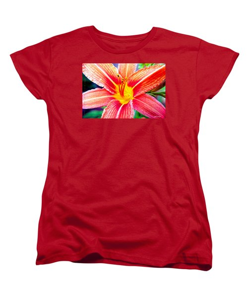 Just Another Day Lilly Women's T-Shirt (Standard Cut) by Mayhem Mediums