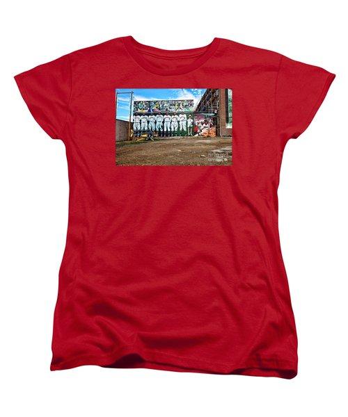 Kc Monarchs - Baseball Women's T-Shirt (Standard Cut) by Liane Wright