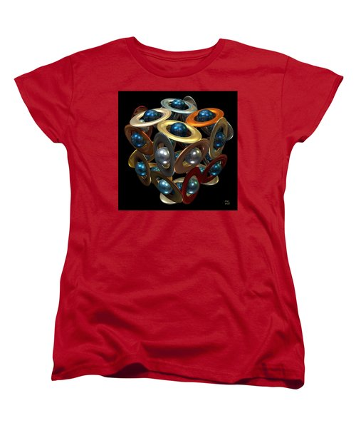 Kepler's Dream Women's T-Shirt (Standard Cut) by Manny Lorenzo