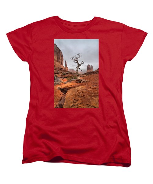 King's Tree Women's T-Shirt (Standard Cut) by David Andersen