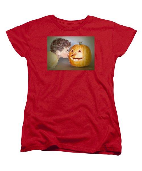 Kissy Face2 Women's T-Shirt (Standard Cut)