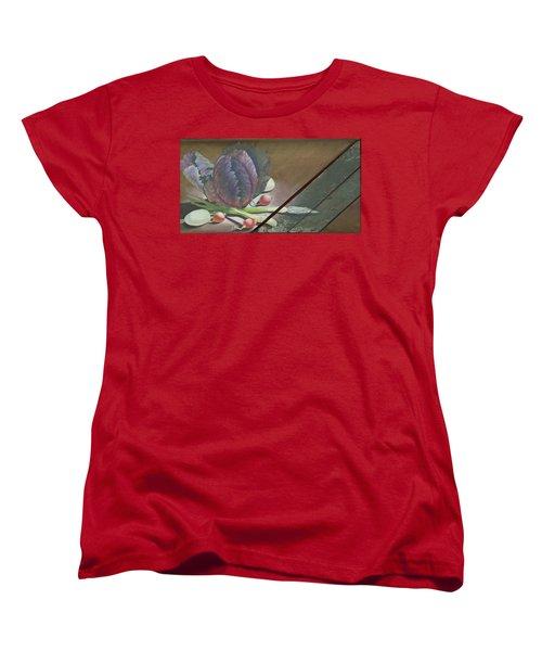 Kraut Cutter Women's T-Shirt (Standard Cut) by Doreta Y Boyd