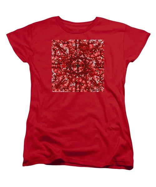 Kundalini Energy Women's T-Shirt (Standard Cut) by Barbara Chichester