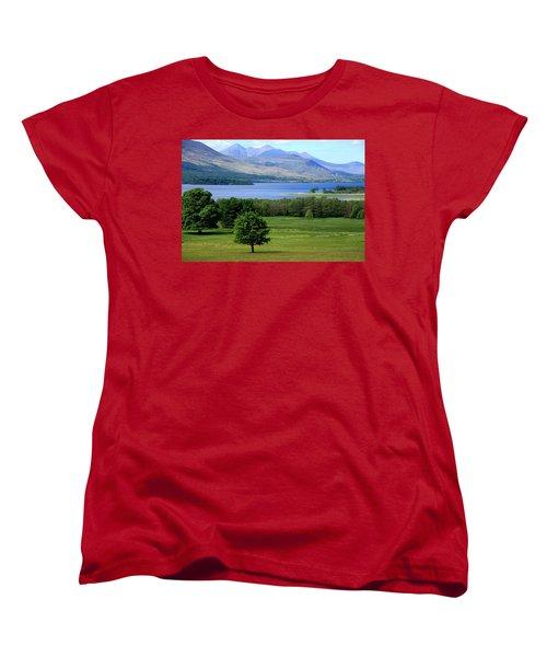 Lakes Of Killarney - Killarney National Park - Ireland Women's T-Shirt (Standard Cut) by Aidan Moran