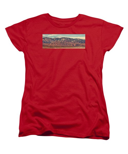 Landscape With Mountain Range Women's T-Shirt (Standard Cut) by Panoramic Images