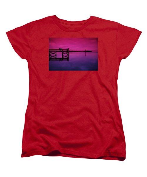 Last Sunset Women's T-Shirt (Standard Cut) by Beverly Stapleton