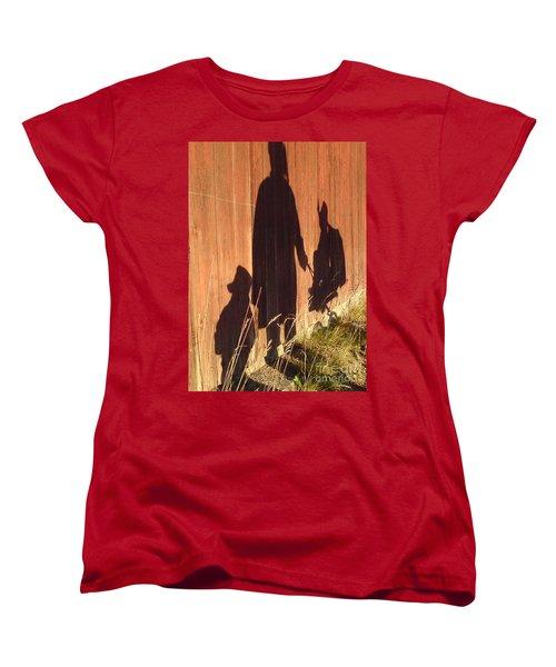 Women's T-Shirt (Standard Cut) featuring the photograph Late Summer Walk by Martin Howard