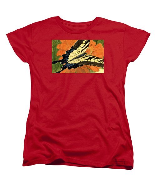 Lepidoptery Women's T-Shirt (Standard Cut) by Joel Deutsch