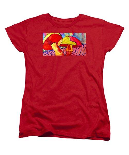 Letting My Freak Flag Fly Women's T-Shirt (Standard Cut) by Beverley Harper Tinsley