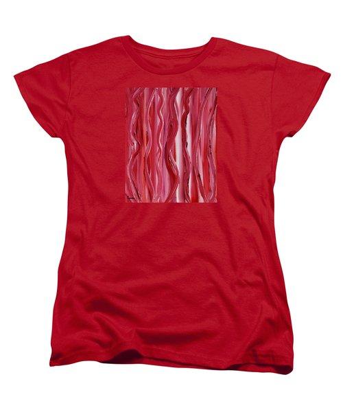 Licorice Women's T-Shirt (Standard Cut) by Donna  Manaraze