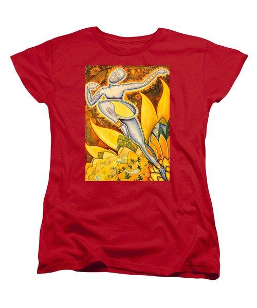 Life Is A Pure Flame Women's T-Shirt (Standard Cut) by Mark Stankiewicz