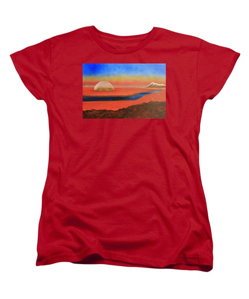 Life Will Find A Way Women's T-Shirt (Standard Cut) by Tim Mullaney