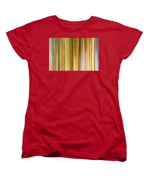Women's T-Shirt (Standard Cut) featuring the photograph Light And Snow by Davorin Mance