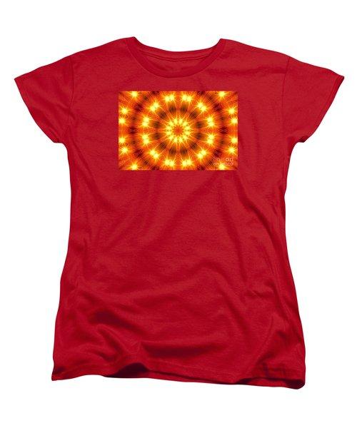 Women's T-Shirt (Standard Cut) featuring the photograph Light Meditation by Joseph J Stevens