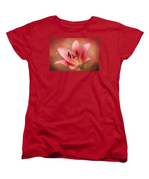 Lily Women's T-Shirt (Standard Cut) by Ann Lauwers