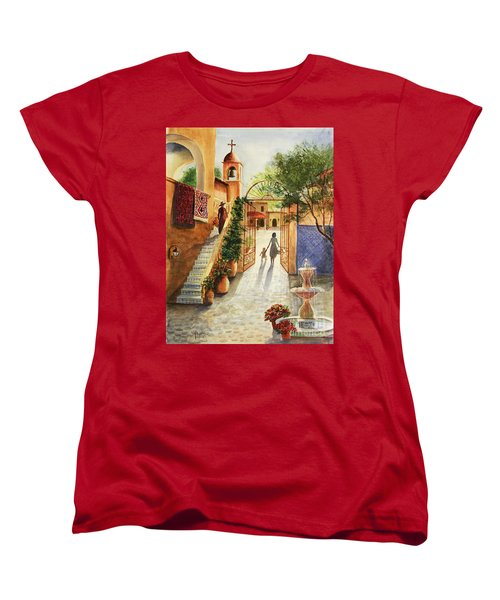 Lingering Spirit-sedona Women's T-Shirt (Standard Cut) by Marilyn Smith