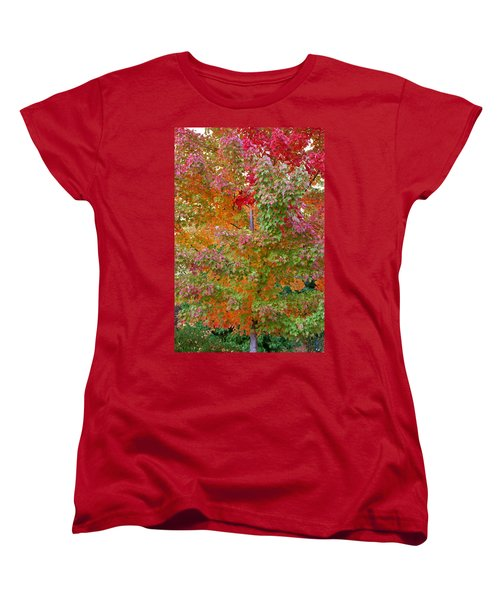 Liquid Amber Magic Women's T-Shirt (Standard Cut) by Michele Myers