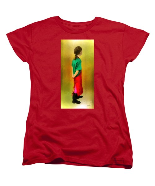 Little Shopgirl Women's T-Shirt (Standard Cut) by RC deWinter