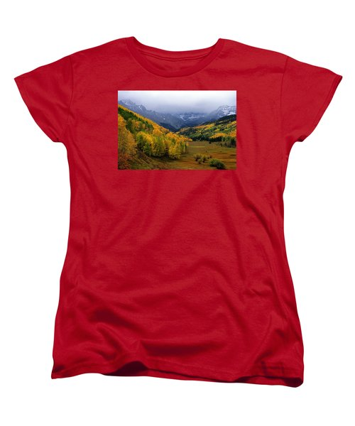 Little Meadow Of The Sublime Women's T-Shirt (Standard Cut) by Eric Glaser