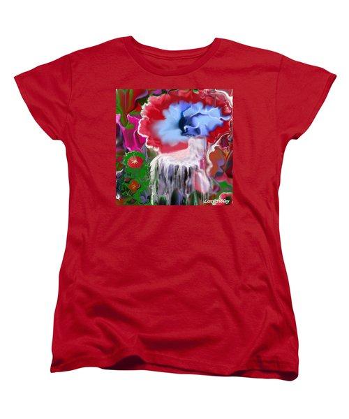 Living Water Women's T-Shirt (Standard Cut) by Loxi Sibley