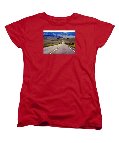 Lonely Road Women's T-Shirt (Standard Cut) by Antonia Citrino