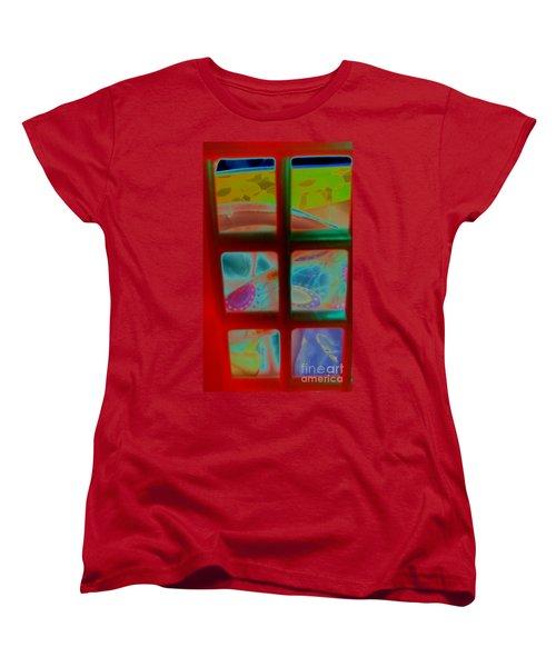Look Through Any Window Women's T-Shirt (Standard Cut) by Martin Howard