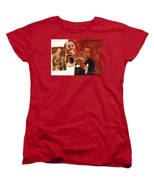 Louis Armstrong Women's T-Shirt (Standard Cut)