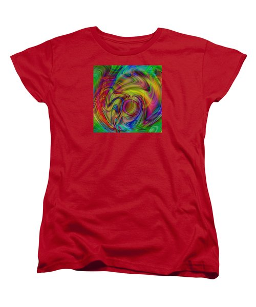 Love Is In The Air Women's T-Shirt (Standard Cut) by Kevin Caudill