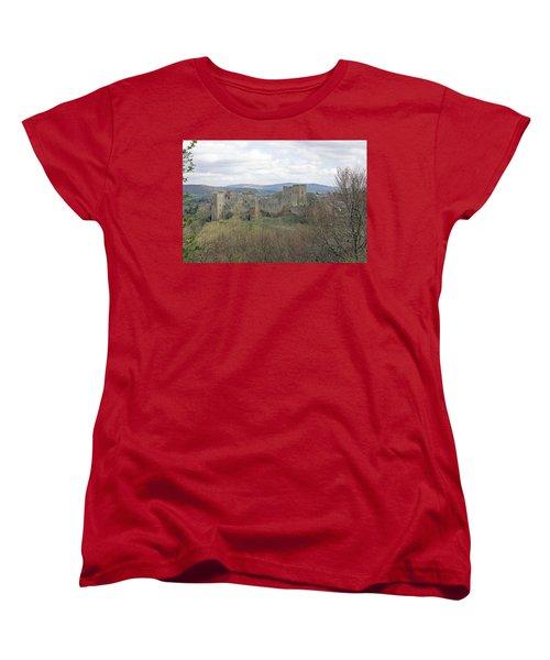 Ludlow Castle Women's T-Shirt (Standard Cut) by Tony Murtagh