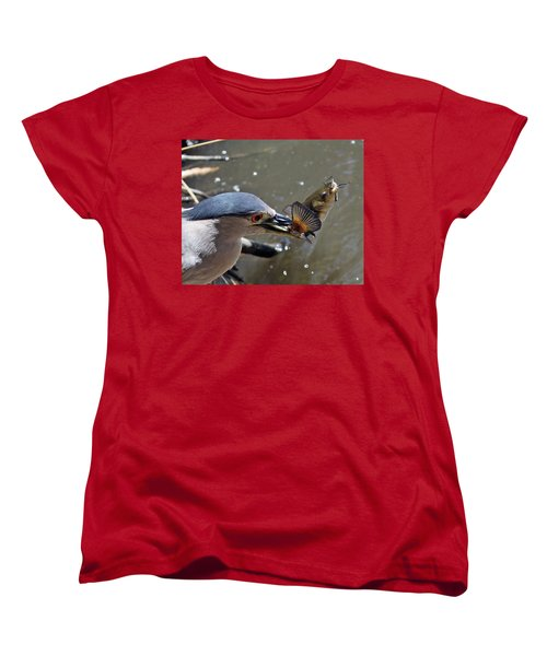 Lunch Is Served Women's T-Shirt (Standard Cut) by Shoal Hollingsworth