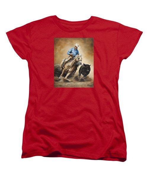 Making The Cut Women's T-Shirt (Standard Cut) by Kim Lockman