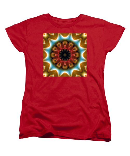 Mandala 100 Women's T-Shirt (Standard Cut) by Terry Reynoldson