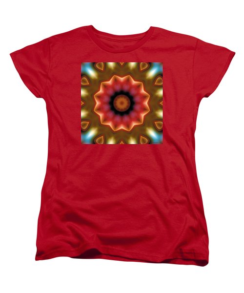 Mandala 103 Women's T-Shirt (Standard Cut) by Terry Reynoldson