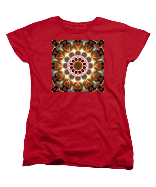 Mandala 67 Women's T-Shirt (Standard Cut) by Terry Reynoldson