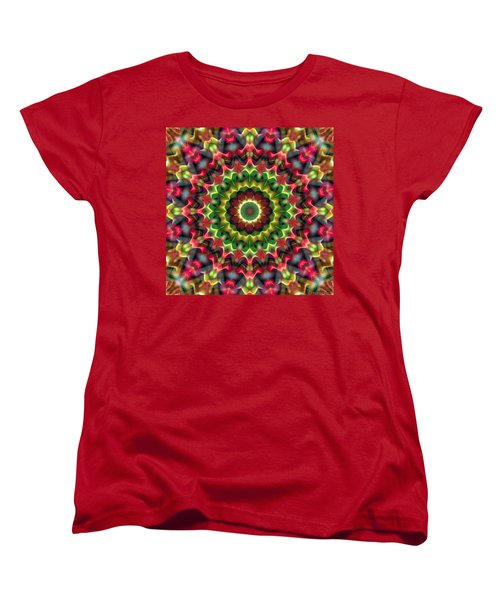 Mandala 70 Women's T-Shirt (Standard Cut) by Terry Reynoldson