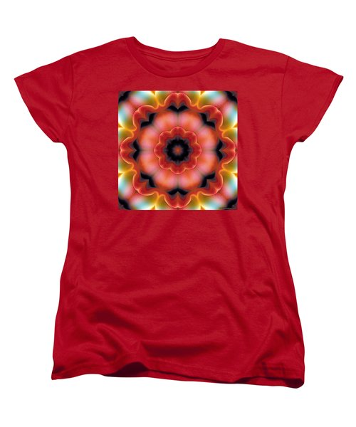 Mandala 91 Women's T-Shirt (Standard Cut) by Terry Reynoldson