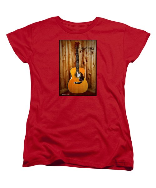 Martin Guitar - The Eric Clapton Limited Edition Women's T-Shirt (Standard Cut) by Bill Cannon