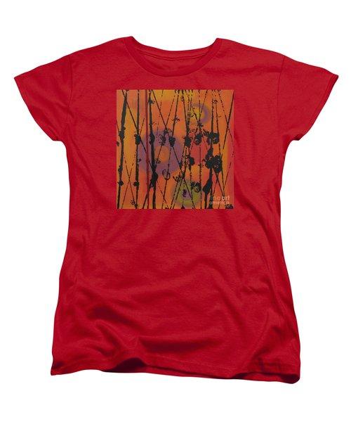 Women's T-Shirt (Standard Cut) featuring the painting Maya 1 by Mini Arora