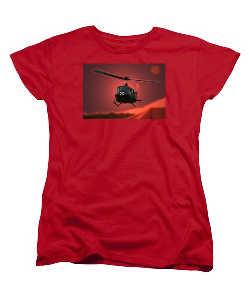 Medevac The Sound Of Hope Women's T-Shirt (Standard Cut) by Thomas Woolworth