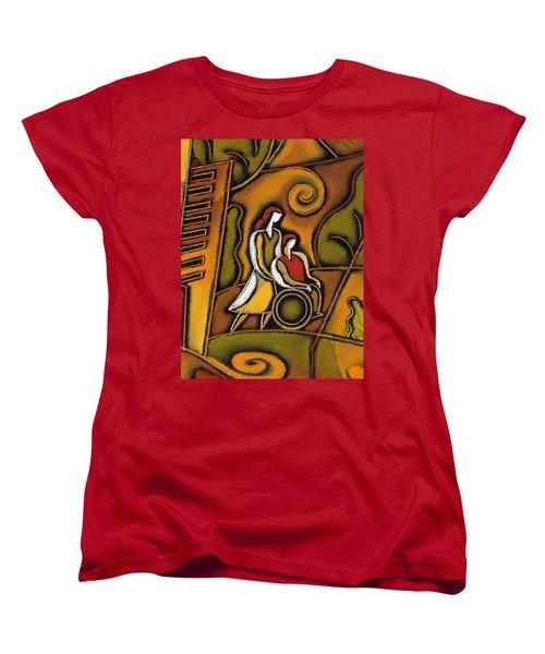Medicare Women's T-Shirt (Standard Cut) by Leon Zernitsky