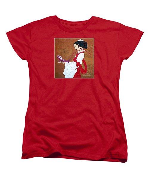 Meditation Women's T-Shirt (Standard Cut) by Fei A