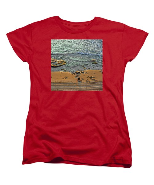Meditation Women's T-Shirt (Standard Cut) by Ron Shoshani