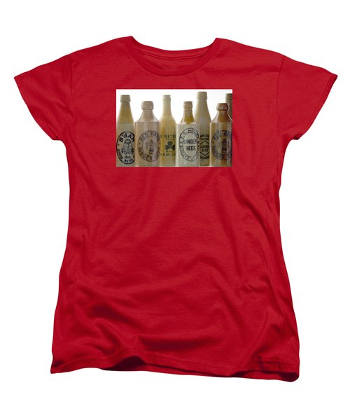 Memories In A Bottle Women's T-Shirt (Standard Cut) by Holly Kempe