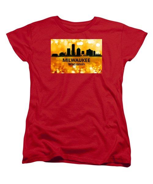 Milwaukee Wi 3 Women's T-Shirt (Standard Cut) by Angelina Vick