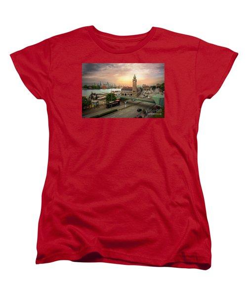 Miniature Hamburg Women's T-Shirt (Standard Cut) by Daniel Heine